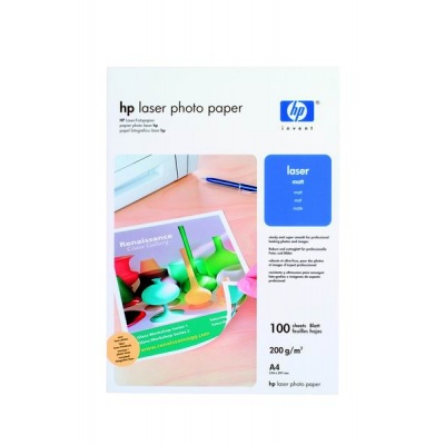HP Professional Matt Laser Photo Paper-100 sht/A4/210 x 297 mm, 200 g/m2, Q6550A