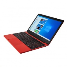 "UMAX NB VisionBook 12Wa Red - 11,6"" IPS FHD 1920x1080,Celeron N3350@1,1 GHz,4GB,64GBSSD,Intel UHD,W10P,Červená"