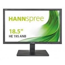 """HANNspree MT LCD HE195ANB 18,5"""" 1366x768, 16:9, 200cd/m2, 600:1 / 40M:1, 5 ms"""