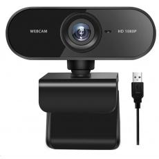 ODSAMA WebCam W2 - webkamera Full HD 1080p (1920 x 1080), USB, mikrofon, černá
