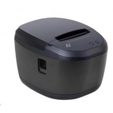 Birch A5-30 Pokladní tiskárna s řezačkou, USB+RS232+LAN, černá, tisk v českém jazyce