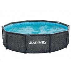 Marimex Bazén Florida 3,05x0,91 m bez filtrace - motiv RATAN