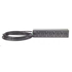 APC Rack PDU, Basic, Extender, 2U, 32A, 230V, (4)C19, Hard Wire 3-wire 8.53m