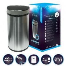 HiMAXX senzorový odpadkový koš Elegance II 48L