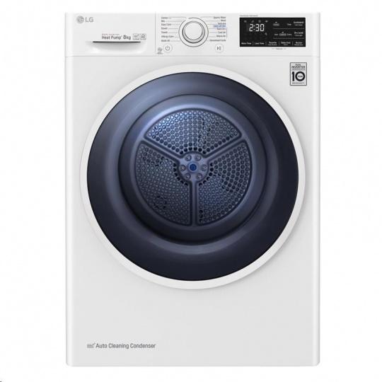 LG RC80EU2AV4D kondenzační sušička prádla