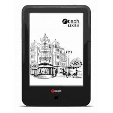 C-TECH E-book reader Lexis II (EBR-62), quad core, Android, dotyková HD obrazovka s dvojím podsvícením, Wi-Fi, 8GB,černý