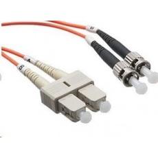 Duplexní patch kabel MM 62,5/125 OM1, SC-ST, LS0H, 5m