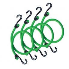 MasterLock 3106EURDAT Set 4 ks upínací gumy s háčky - 80 cm