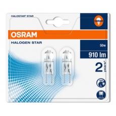 OSRAM Halogen Halostar Star  64440 ST 12V 50W  GY6,35 noDIM C Sklo 910lm 2700K 2000h (blistr 2ks)