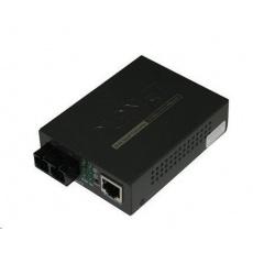 Planet FT-802 multimode ethernet konvertor s přepínačem 10/100BaseTX/FX (SC)