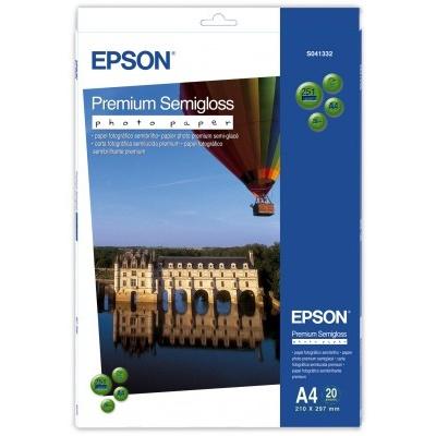 EPSON Paper A4 Premium Semigloss Photo - 20 sheets