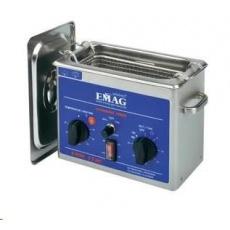 CONRAD Ultrazvuková čistička Emag Emmi-12 HC, 1,2 l, 100 W, 200 x 100 x 65 mm, nerez