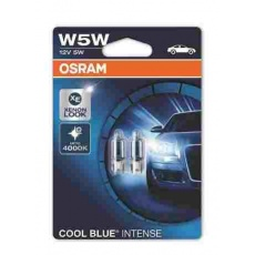 OSRAM autožárovka W5W COOL BLUE INTENSE 12V 5W W2.1x9.5d (Blistr 2ks)