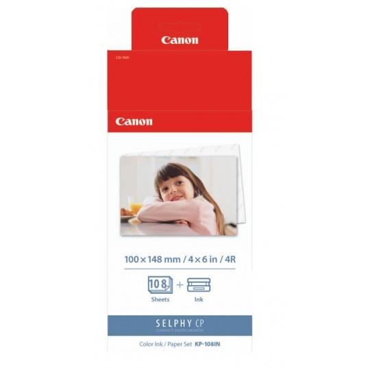 Canon KP108IN papír 100x148mm 108ks do termosublimační tiskárny