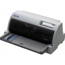 EPSON tiskárna jehličková LQ-690, A4, 24 jehel, 529 zn/s, 1+5 kopii, LPT, USB 2.0