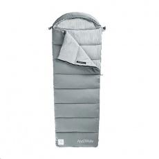 Naturehike pratelný spacák M180 bavlněný 1200g - šedý