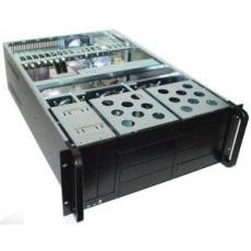 CHIEFTEC skříň Rackmount 4U ATX/EATX, UNC-410F-B-500, 500W, Black