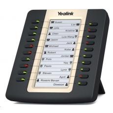 Yealink EXP20 expanzní modul, LCD, 20 tl., pro T27G/T27P/T29G