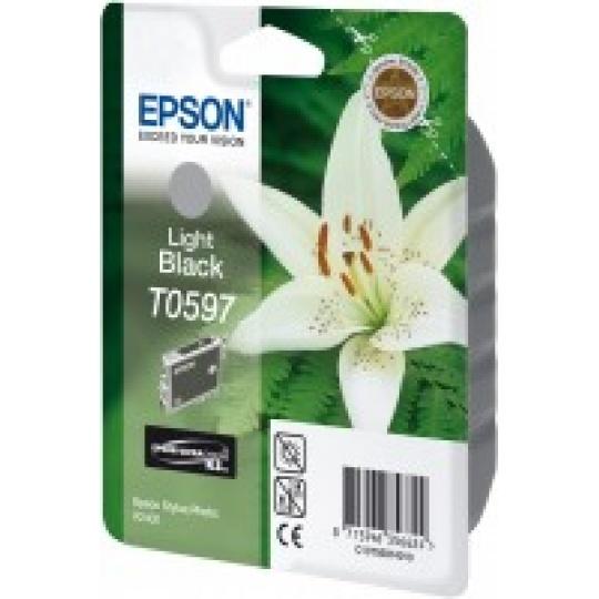 "EPSON ink čer Stylus photo ""Lilie"" R2400 - light Black"