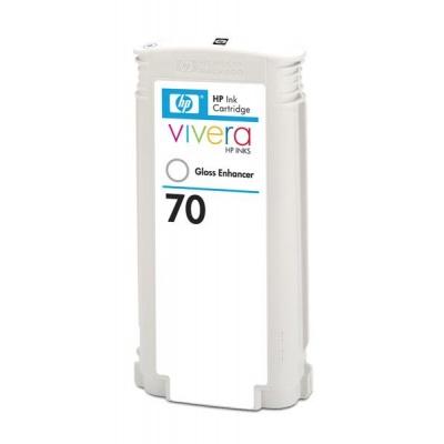 HP 70 Gloss enhancer DJ Ink Cart, 130 ml, C9459A