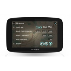 TomTom GO PROFESSIONAL 520 - LIFETIME mapy s doživotní Traffic službou a rychlostními radary