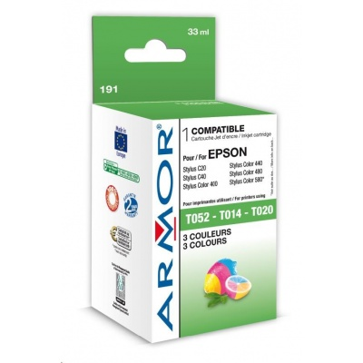 ARMOR cartridge pro EPSON Stylus Color 400/500/600 Color (T052040,S020171)