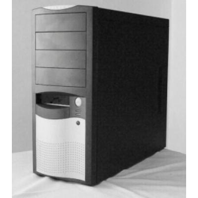 EUROCASE skříň ML5410 450W PFC, 12cm fan, black/silver