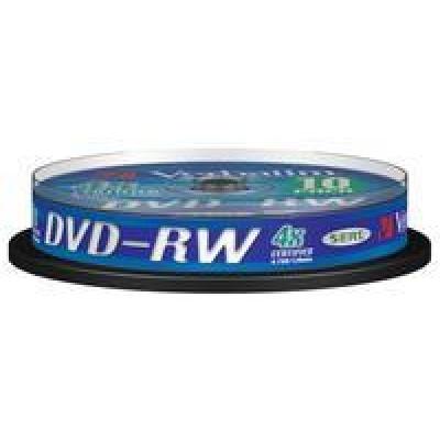 VERBATIM DVD-RW(10-pack)Spindle/4x/4.7GB