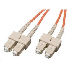 Duplexní patch kabel MM 62,5/125 OM1, SC-SC, LS0H, 5m