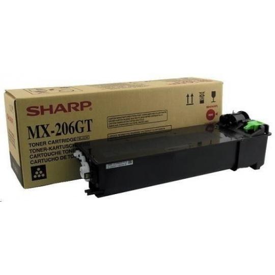 SHARP toner MX-206GT pre MX-206GT/ MX-M160D/ M200D Black na 16000 str.