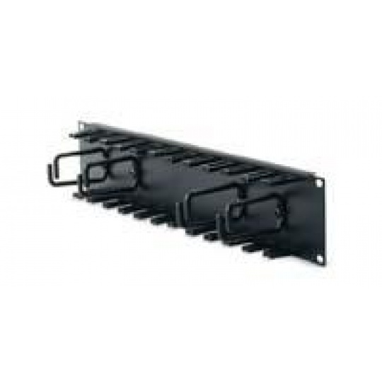 APC 2U Patch Cord Organizer Black