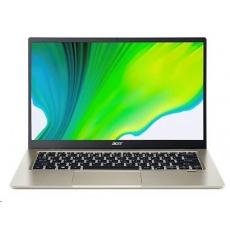 """ACER NTB Swift 1 (SF114-34-P64B) - 14"""" IPS FHD,Pentium® Silver N6000,8GB,256SSD,UHD Graphics 615,W10H,Stříbrná"""