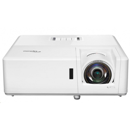 Optoma projektor ZH406ST (DLP, FULL 3D, Laser, FULL HD, 4200 ANSI, 300 000:1, HDMI, VGA, repro 2x10W)