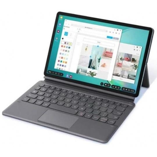 Samsung ochranný kryt s klávesnicí a funkcí stojánku EF-DT860UJE pro Galaxy Tab S6 , šedá, (EU blister)