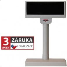 Virtuos zákaznický display FV-2029M, 2 x 20 znaků 9 mm, RS232, včetně napájení +12V