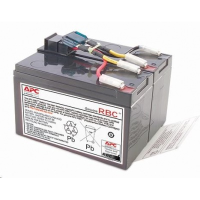 APC Replacement Battery Cartridge #48, SUA750, SUA750I, SMT750I