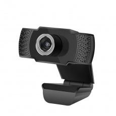 C-TECH webkamera CAM-07HD, 720P, mikrofon, černá