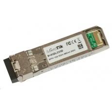 MikroTik SFP+ (miniGBIC) modul S+85DLC03D, MM, 300m, 10G