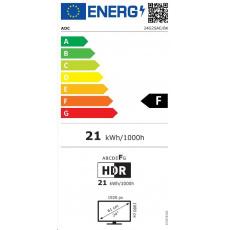"""AOC MT VA LCD WLED 23,8"""" 24G2SAE/BK - VA panel, 1920x1080, 165Hz, 2xHDMI, DP, repro"""