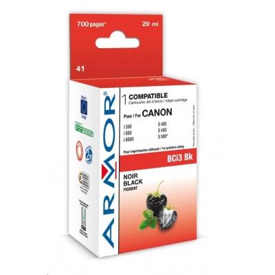 ARMOR cartridge pro CANON S400/500/600/i550 Black (BCI-3Bk)