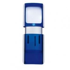 Lupa WEDO s LED světlem modrá
