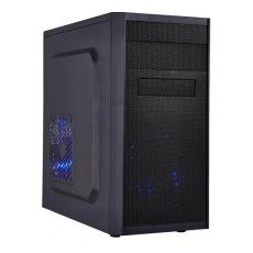 EUROCASE skříň MC X203 black, micro tower, without fans, 2x USB 2.0