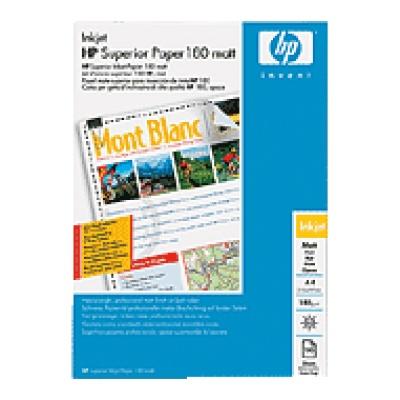HP Professional Matt Inkjet Paper-100 sht/A4/210 x 297 mm,  180 g/m2, Q6592A