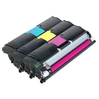 Minolta Tonerů Sada CMY (bez černého) do MC 2400/2430/2450/2480MF/2490MF/2500/2530/2550 (4,5k)