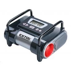 Extol Premium kompresor do auta 12V, automatický s LCD a světlem, 12V, 6,9bar 8864006