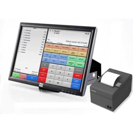 """LYNX Pokladní systém 15"""" vč. pokladní tiskárny W10 HOME"""