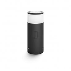PHILIPS Calla Venkovní stojan, Hue White and color ambiance, 230V, 1x8W integr.LED, Chrom matný, rozšíření